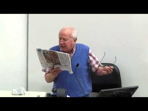 Public Lecture by Mr. Robert Fisk 2016-03-10