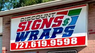 Brand new Full wrap from Discount Signs And Wraps