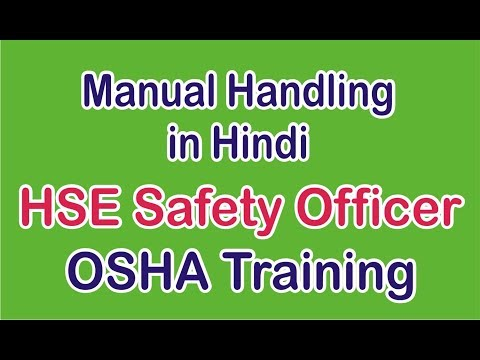 Manual Handling in Safety Course