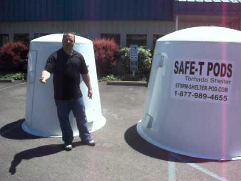 Tornado Shelter By Safe-T Pod