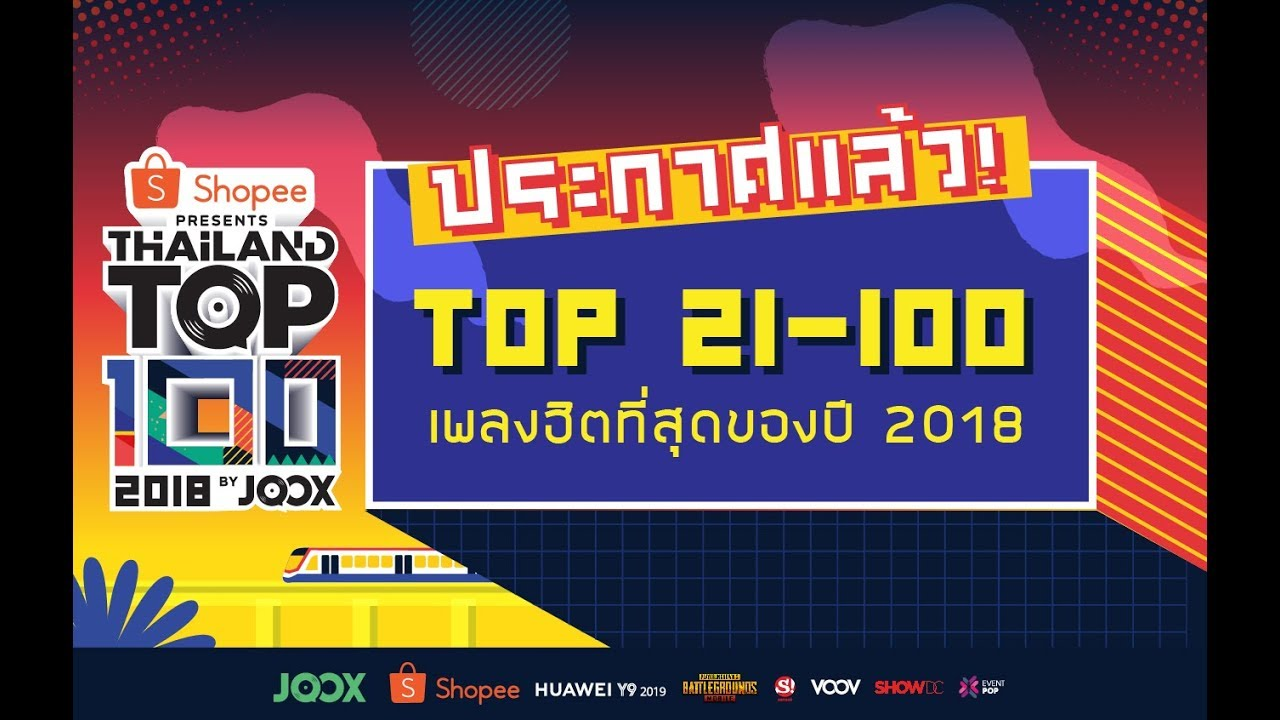 Thailand Top 100 by JOOX | Eventpop อีเว้นท์ป็อป | Eventpop