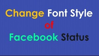 Size on font How facebook do the change you