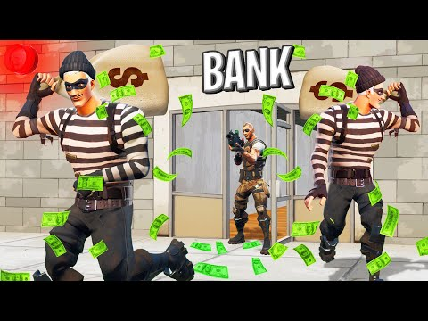 We ROBBED A BANK In FORTNITE! (Role Play)