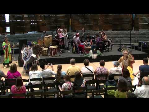 Living Earth Festival 2015: Youghtanund Drum Group 1