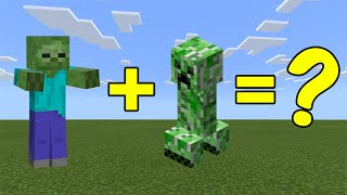 I Combined a Zombie and a Creeper in Minecraft - Here's What Happened...