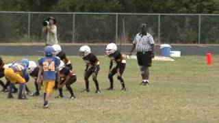 Josh Tipps First Pop Warner Game Highlights thumbnail