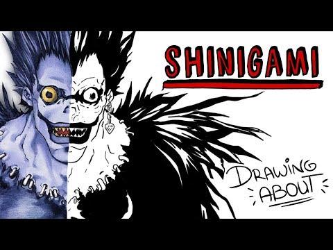 SHINIGAMI LA LEYENDA JAPONESA DE LOS DIOSES DE LA MUERTE | Draw My Life