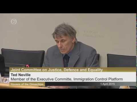 Ted Neville on emigration and the population replacement of Irish workers