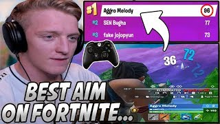 Tfue Was SHOCKED After Seeing How This CONSOLE Player Qualified #1 For The WORLD CUP!