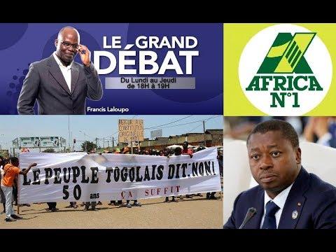 Africa N°1:Le Grand Débat:Togo, le dialogue voué à l'échec; L'opposit° devrait reprendre les marches