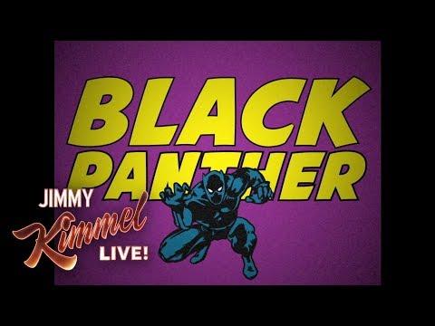 Vintage Black Panther Cartoon