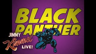 Vintage Black Panther Cartoon