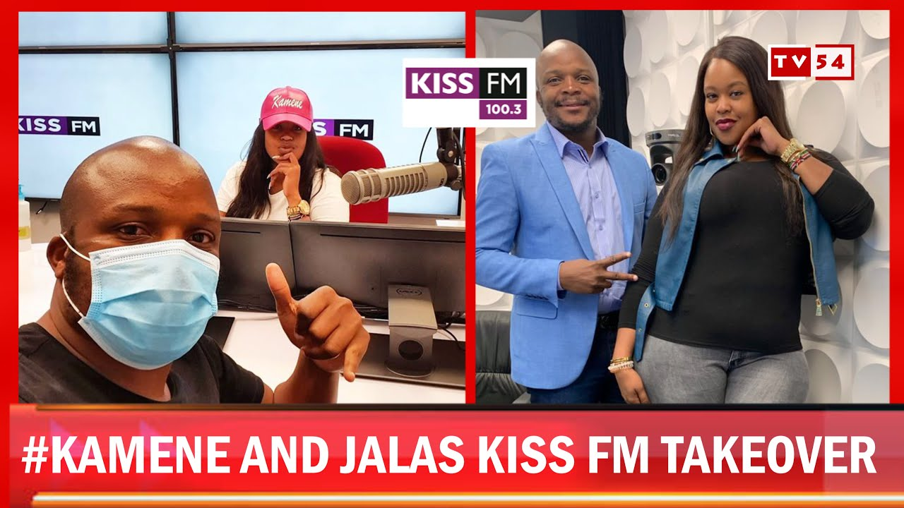 JALANG'O OFFICIALLY HOSTS FIRST SHOW AT KISS FM [ FIRST TIME ...