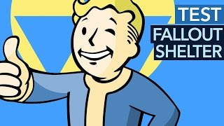 Fallout Shelter - Test / Review: Tiefbau mit Tiefgang?