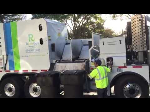 Recology Mountain View Lodal EVO on Commercial Recycles