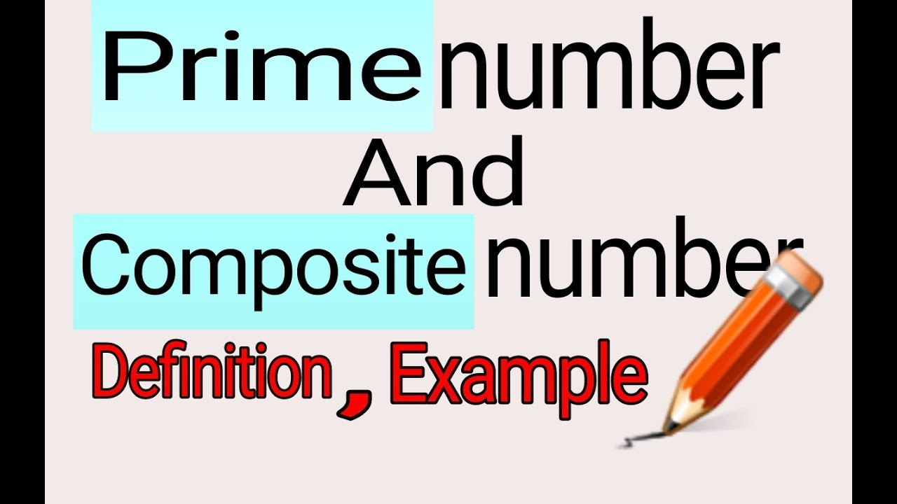 prime numbers and composite numbers | number system ||definition||its  properties| examples#hindi#