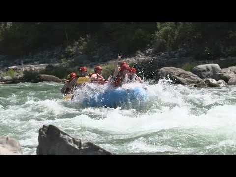 Whitewater River Rafting in Fernie