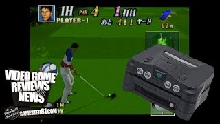 Rare Japan Pro Golf Tour 64 for the N64DD - Gamester81