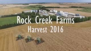 Rock Creek Farms Harvest 2016- Versatile Retro Delta and John Deere RX