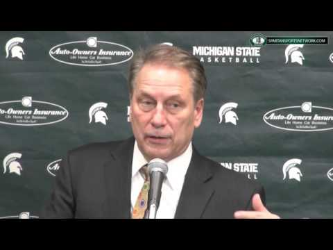 Iowa 76 Michigan State 59: Tom Izzo