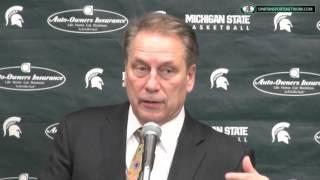 Iowa 76 Michigan State 59: Tom Izzo