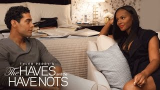 Steamy Alert: Charles Falls for Candace | Tyler Perry's The Haves and the Have Nots | OWN