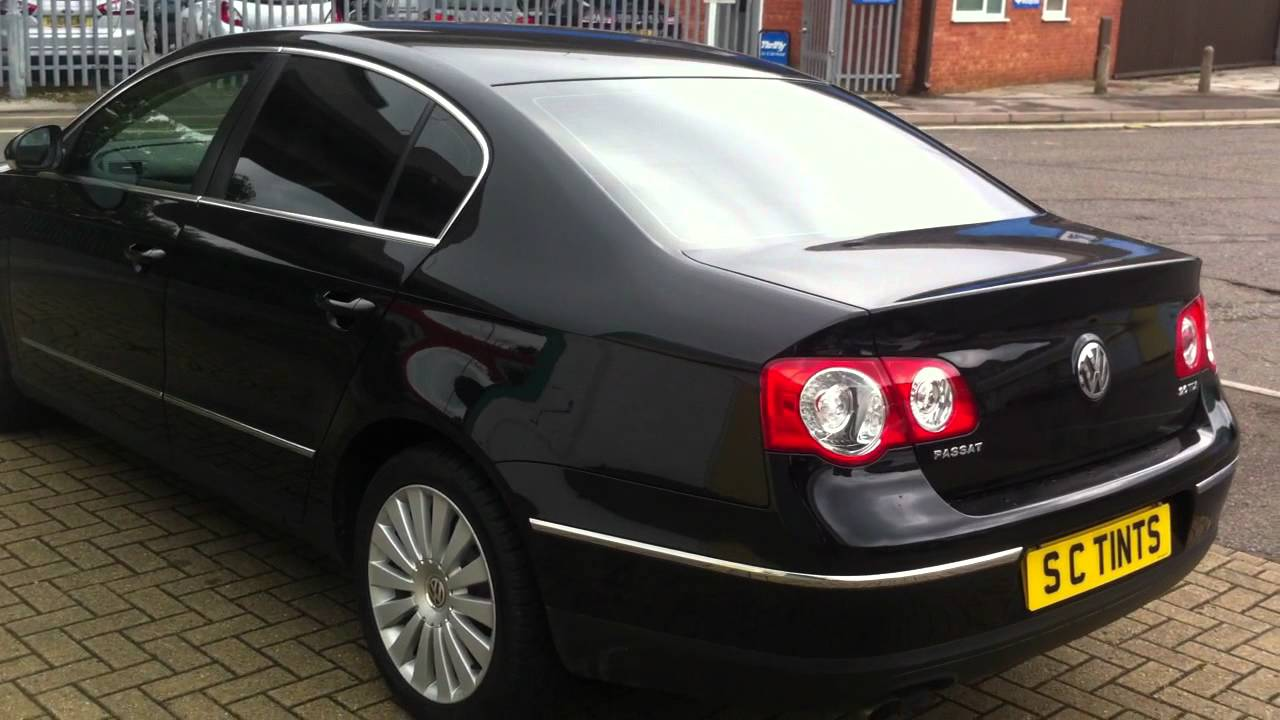 Vw Passat With Dark Tints On All Rear Windows Youtube