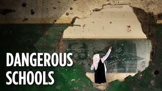 What Happens To Schools In War Zones?