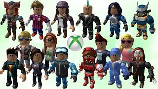 ALL XBOX ONE EXCLUSIVE ROBLOX AVATARS