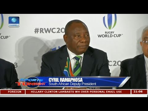 South Africa Bid To Host 2023 Rugby World Cup |Sports Tonight|