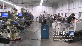 machining at surry community college