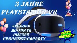 Playstation VR Geburtstagsstream !! Happy Birthday! ------Social Me...