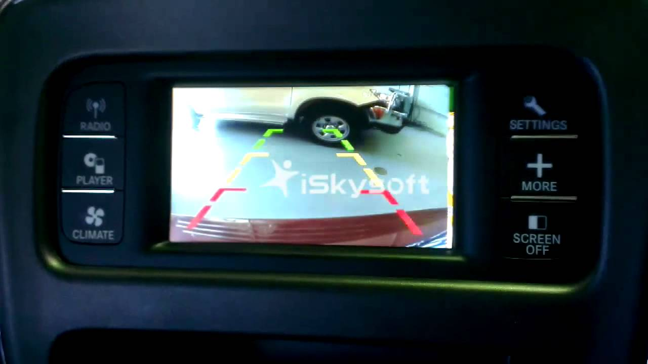 maxresdefault integration of reverse camera to factory screen in a dodge journey  at panicattacktreatment.co