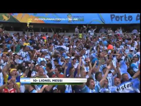 Gol de Messi  Nigeria 1   Argentina 2