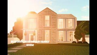 ROBLOXMD Maison de famille de rêve bleu de Bloxburg