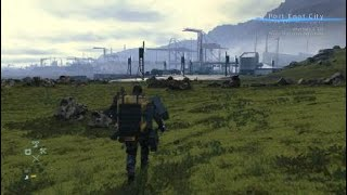 Gambar cover DEATH STRANDING Port knot city approach