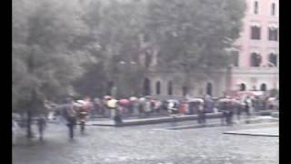 Serpentone COBAS al Corteo di Roma del 17 Ottobre 2008