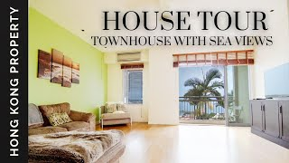 HOUSE TOUR | SEA VIEW DUPLEX FOR SALE  WITH TWO BALCONIES AND ROOFTOP  | Hong Kong
