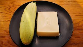 【小穎美食】西葫蘆和豆腐用這個方法做,孩子特別喜歡吃,做法超簡單