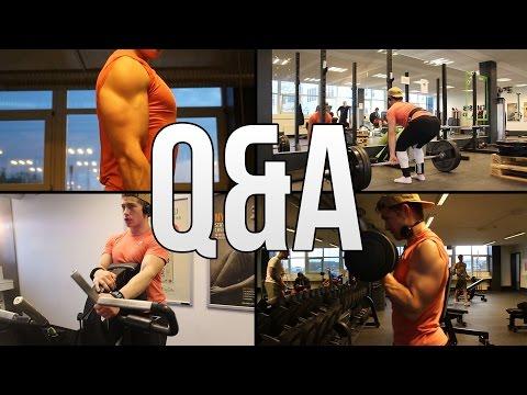 Hvad fik mig til at træne og hvordan jeg mødte min kæreste? - Q&A 2