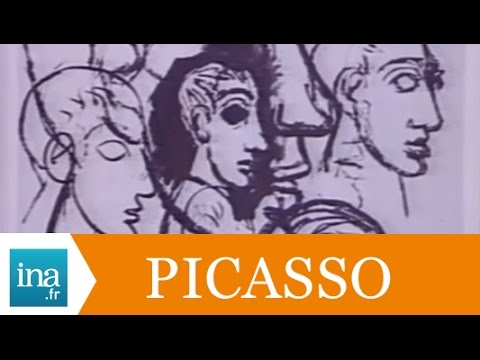 """""""Les Demoiselles d'Avignon"""" de Picasso - Archive vidéo INA"""