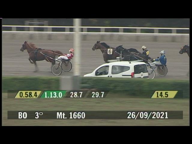2021 09 26   Corsa 3   Metri 1660   Premio Amici Di Casa Insieme - Trofeo Gentlemen for Life