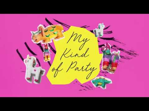 MY KIND OF PARTY - MEGAN NICOLE (ORIGINAL SONG LYRIC VIDEO)