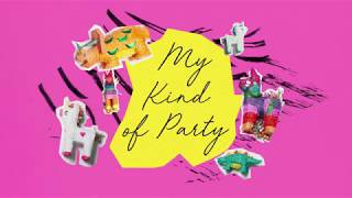 MY KIND OF PARTY - MEGAN NICOLE (ORIGINAL SONG LYRIC VIDEO)