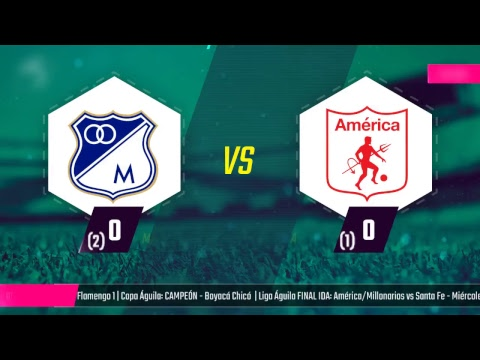 EN VIVO SEMIFINAL: Millonarios vs América
