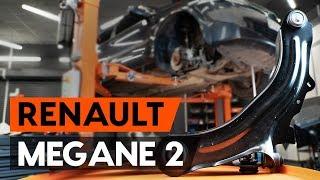 unten vorne/hinten Querlenker beim RENAULT MEGANE II Saloon (LM0/1_) montieren: kostenlose Video