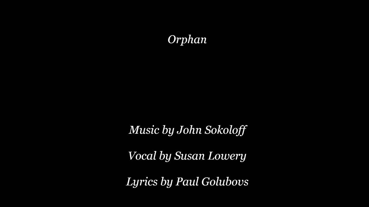 White apron john sokoloff - Orphan John Sokoloff Susan Lowery