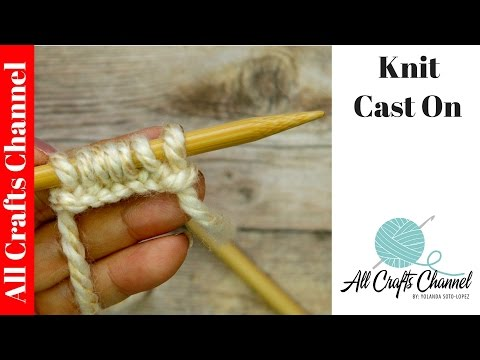 Learn To Knit Easy Cast On