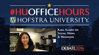 Social Media in Election 2016: HU Office Hours with Kara Alaimo