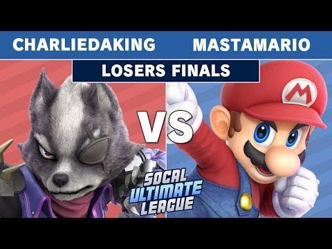 SCUL Season 1 Finale - Charliedaking (Wolf) Vs. POW | MastaMario (Mario) Losers Finals